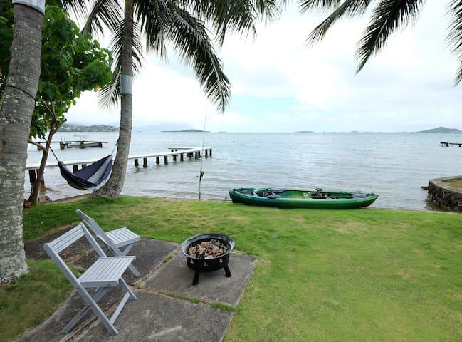 Hawaii Oceanfront Beach House