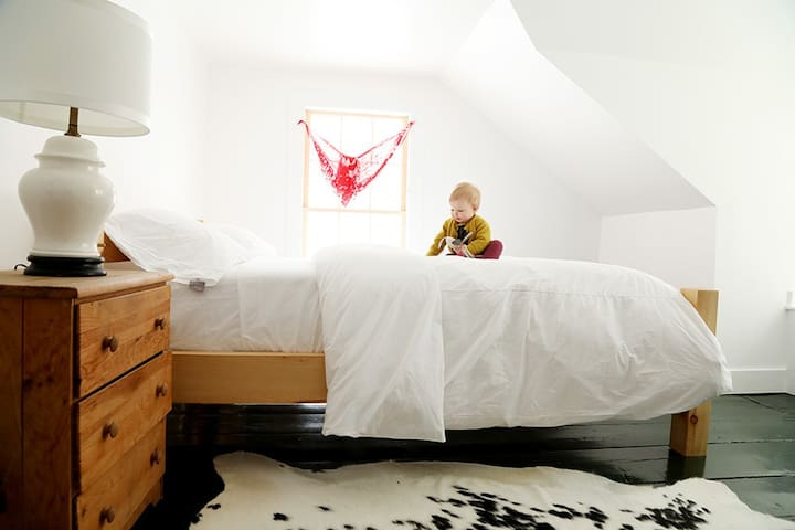 the Eloise Family Suite at Big Picture Farm