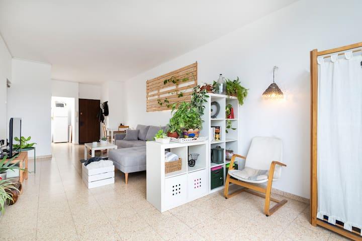 Living Room + Yoga Studio