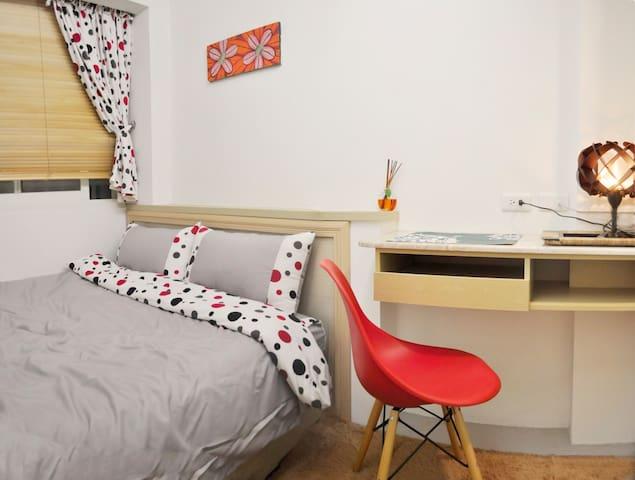 Cozy MRT Room Xinyi District 5 mins信義永春套房衛浴洗衣機