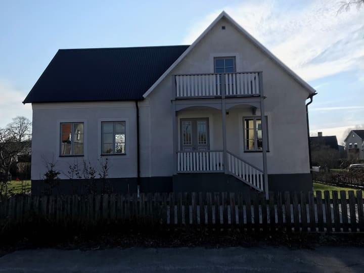 Fina villa i centrala Visby