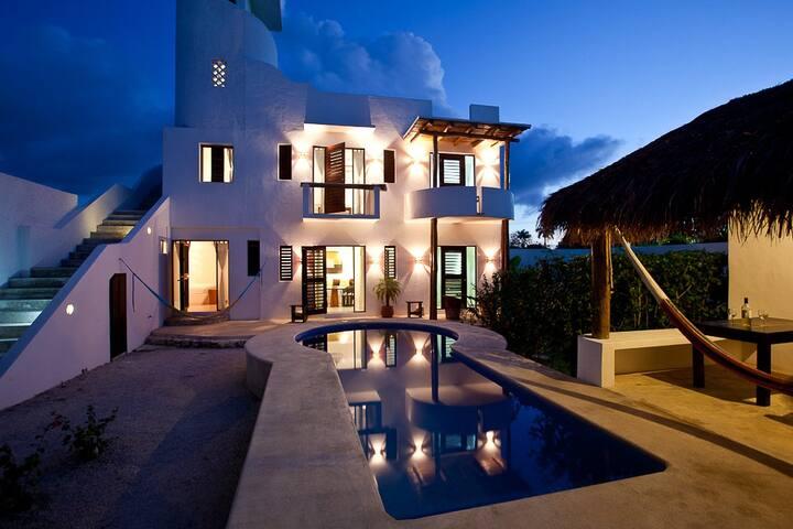 Des locations vacances de charme appartements louer san miguel quintana roo mexique - Location de vacances san miguel mexique ...