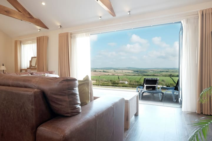 Moonshine - Romantic apartment for two in North Cornwall - Bude - Appartamento