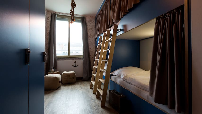 Hostel 4 Bettzimmer