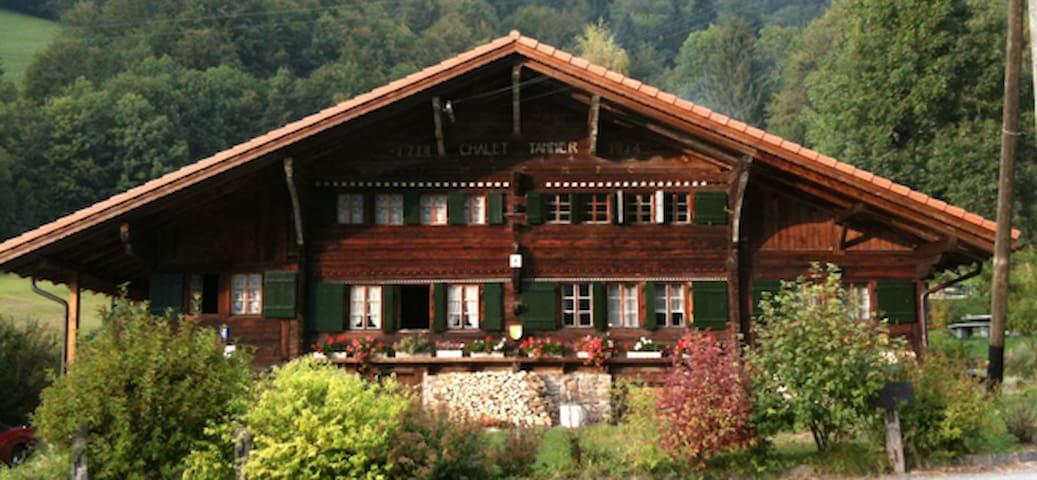 Historical Chalet Gryon-Les Plans