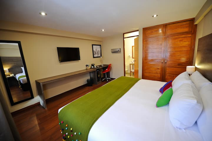 Union Hotel Cusco - Double room with king size bed