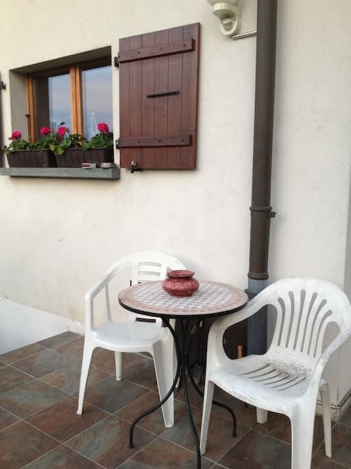 Terrace for our guests.
