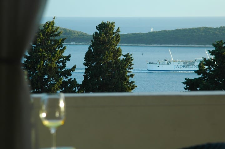 Hvar Town Perfect Sea View Room 6