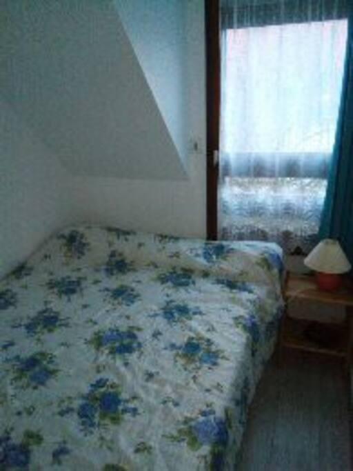 chambre 2 avec rideaux occultant