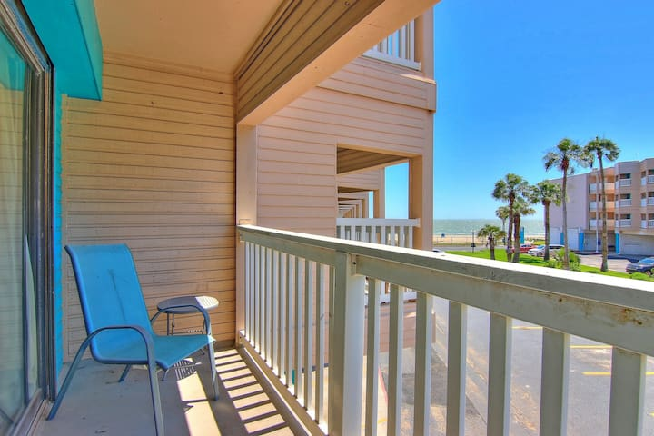 NEW LISTING! Beachfront condo w/ shared pool & gym - near downtown sights!