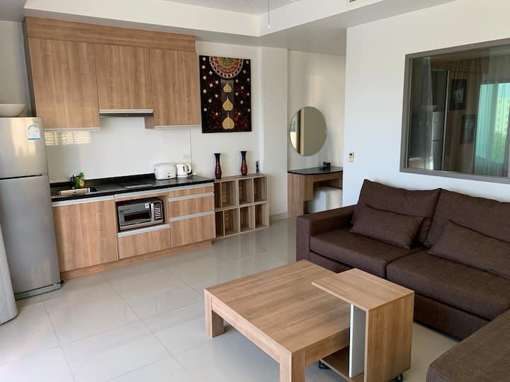 1 спальные апартаменты в 200 метрах от пляжа Surin