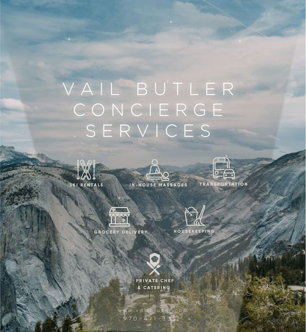 Experience all that Vail and Beaver Creek have to offer by booking some of our Concierge Services