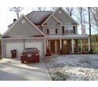 Comfy Blue Home - Douglasville - Casa