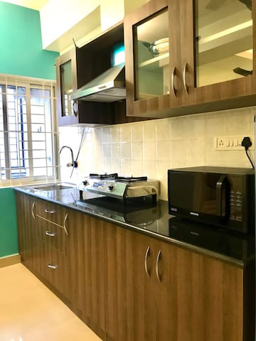 Boutique 1BHK with full fledge Kitchen