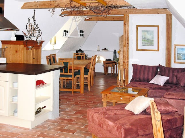 75 m² holiday apartment in Galmsbüll - Galmsbüll - Huoneisto