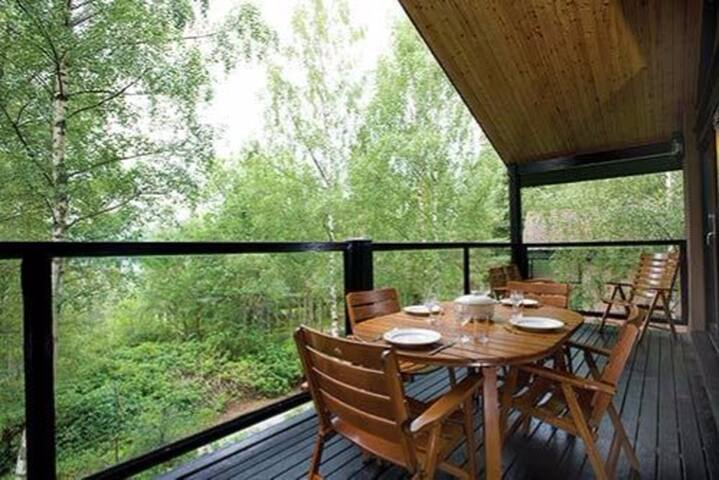 Beautiful lodge near Ballater & Braemar - Ballater - Lomaosake
