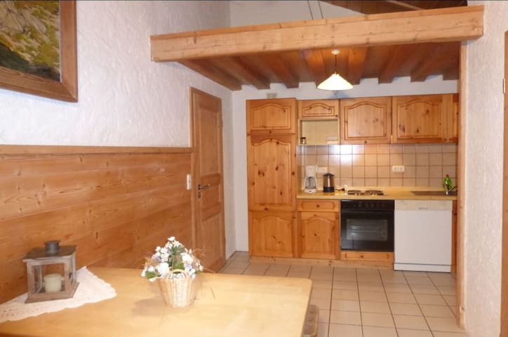 """Dreamlike apartment """"Hochalm"""" with Balcony, Garden & Wi-Fi; Parking Available, Pets Allowed"""