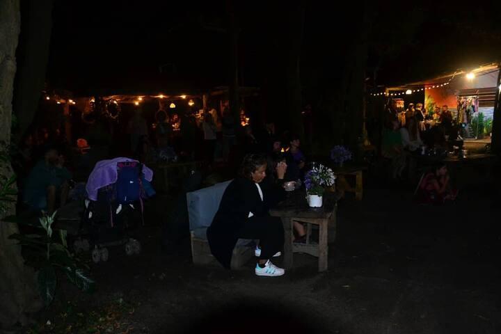 Aquelarre, espacio para camping