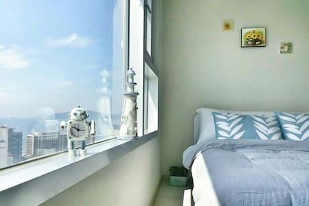 sale! :cozy and fantastic view최고의 해운대 숙소.지하철역☺ - Haeundae-gu