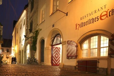 Historisch Wohnen in der Altstadt - 雷根斯堡 - 公寓