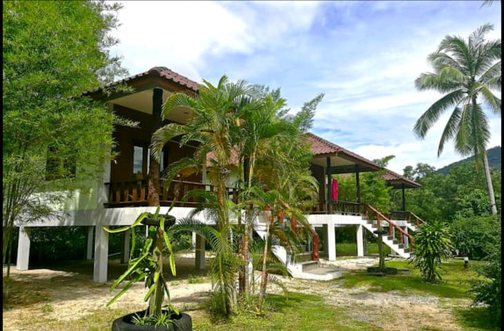 Koh Phanhouse 2 - Ko Pha Ngan - Hus