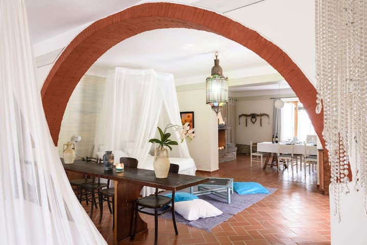 amazing apartment in a old cave - Arezzo