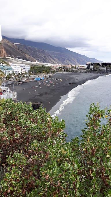 La playa una tarde de Febrero