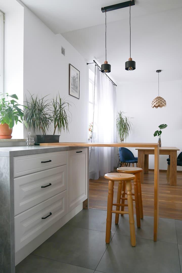 Przestrzenny apartament w samym centrum Kielc