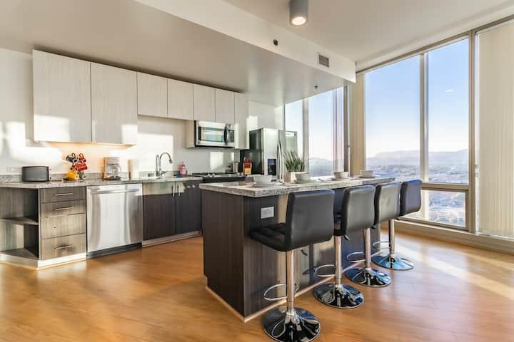 TERRIFIC NEW Luxury 2BR Apartment in Downtown LA!