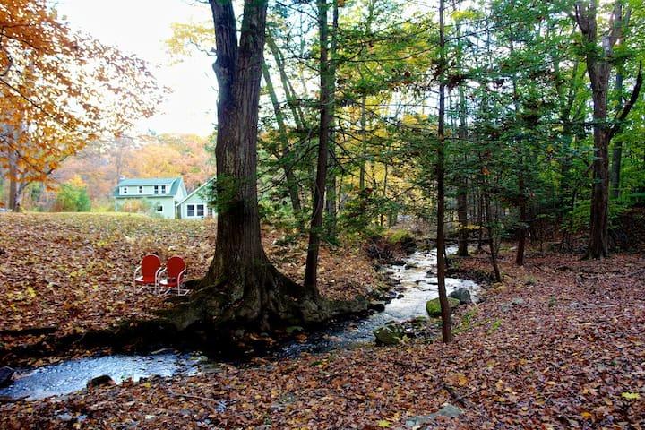 Catskills Mountain River Dream House