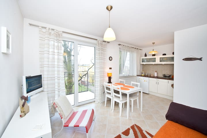 Sand Apartment 5min to the beach - Puck - Byt