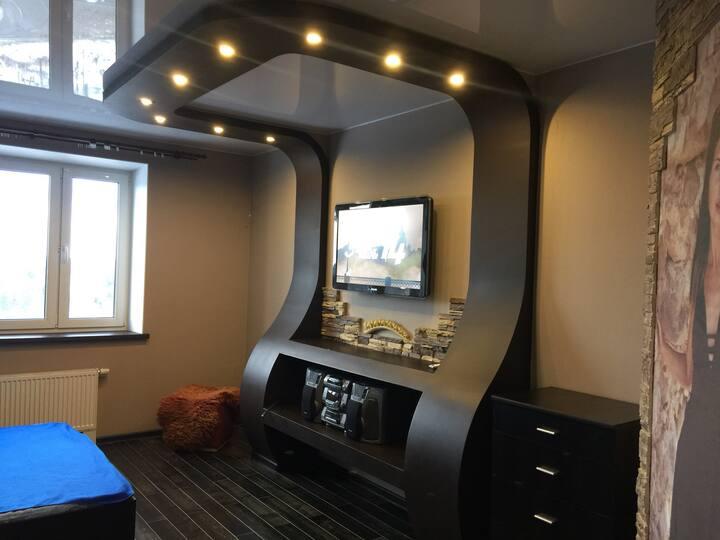 Уютная квартира-студия для хороших людей