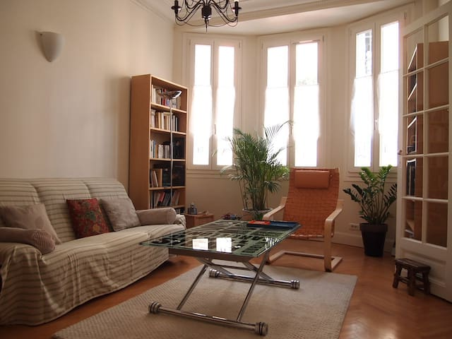 1 Chambre double (2 en été), cœur de ville - Nice - Bed & Breakfast