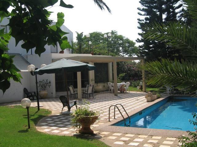 A beautiful villa in Caesarea