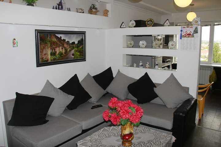 Virshel's 3 bedroom apartment, Wi- Fi, great view
