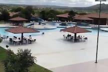 Área do parque aquático
