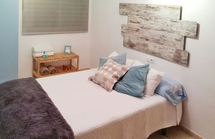 Double room near Valencia+WIFI - Silla