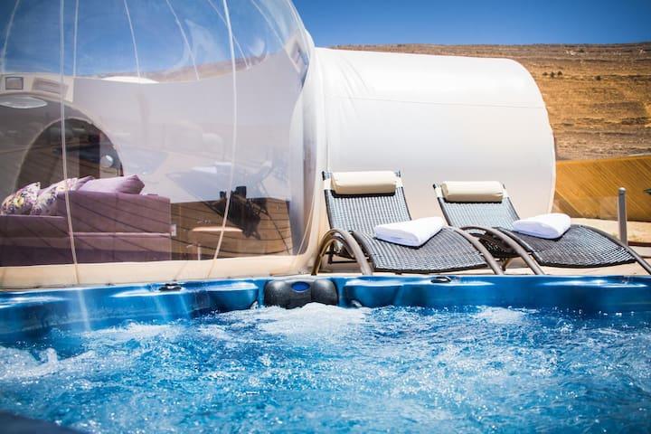 Bubble Suite Twin - Bubble Luxotel Petra