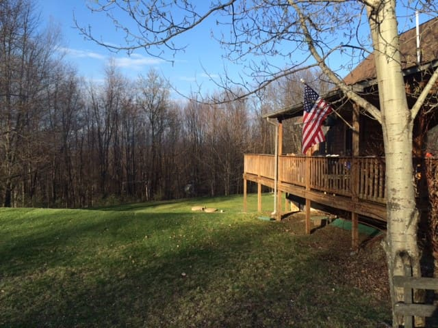 3 BR, 2 BA-Aspen Lodge with a View - Galeton - Hus