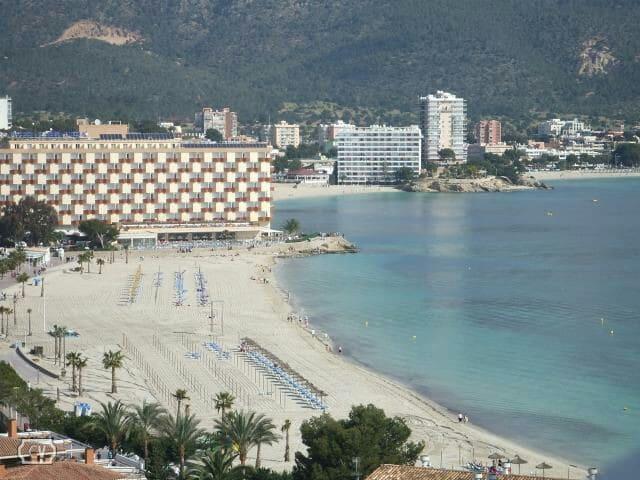 Apartamento vistas al mar. Magalluf - magaluf  - Apartemen