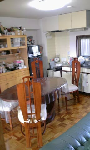 45 square meters, 2 sunny bedrooms - Komae - Apartment
