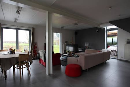 Belle Villa contemporaine dans la campagne / LLN - Incourt