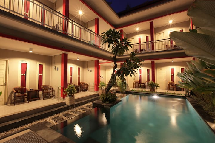 Deluxe Double Room only near kuta beach