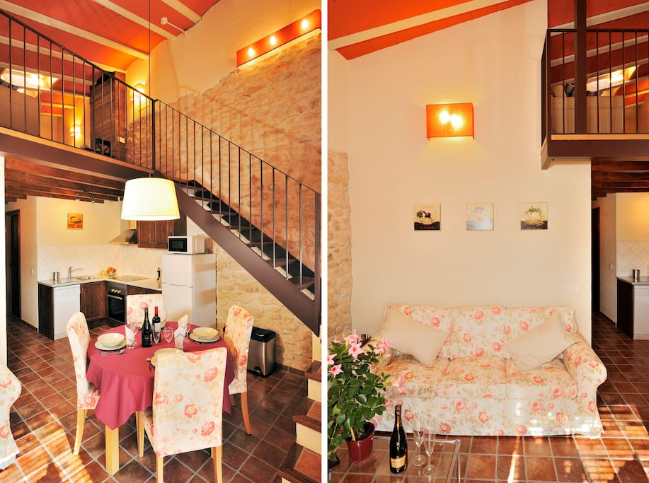 two-level apartment - apartamento de dos niveles