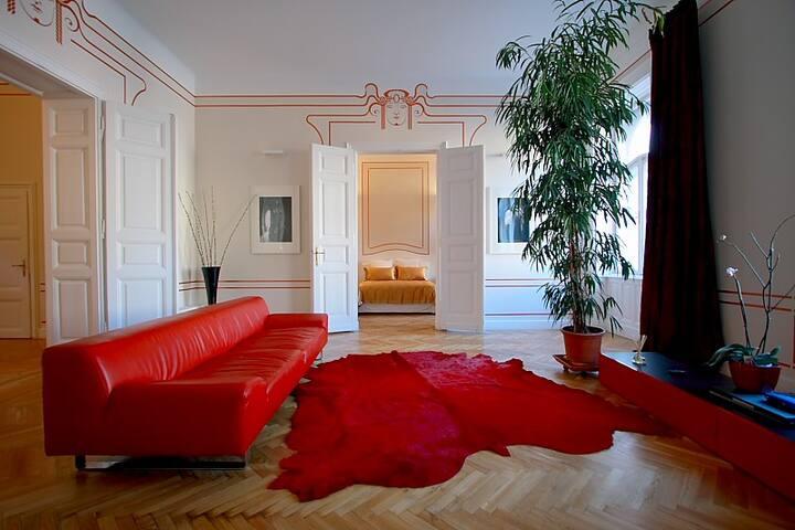 Erzsebet Royal Suite, WiFi, A.C. - Budapeste - Apartamento