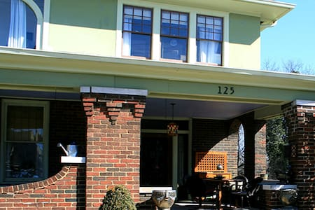 Marble Hill Inn: The Library - 诺克斯维尔(Knoxville) - 住宿加早餐