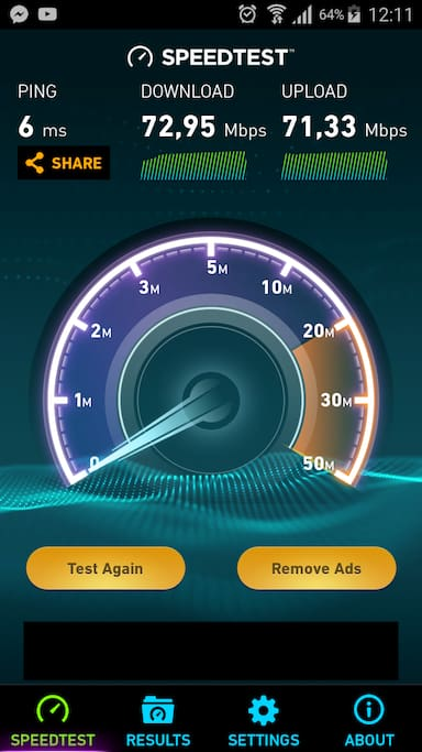 Wifi - fast and reliably