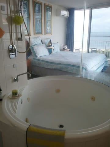 A huge spa to enjoy