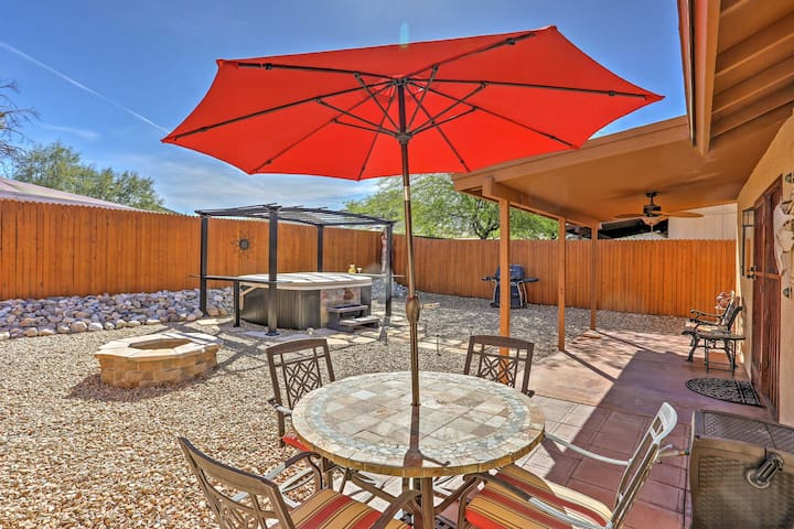 Lovely Tucson House w/ Private Backyard & Fire Pit