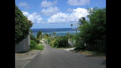 Appartement Caraïbes, calme, vue mer imprenable